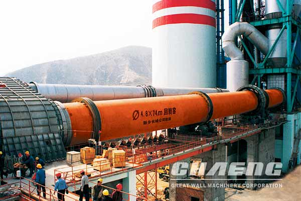 5000 t/d cement rotary kiln price