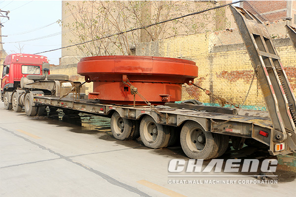The grinding table of CHAENG to be delivered to Uzbekistan